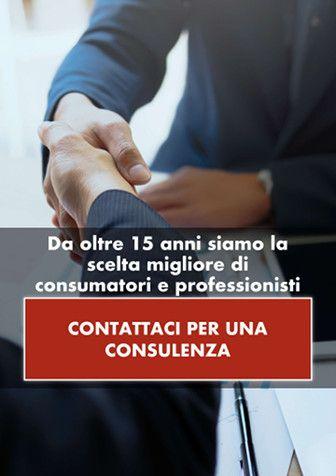 Da oltre 15 anni siamo la scelta migliore di consumatori e professionisti. CONTATTACI PER UNA CONSULENZA.