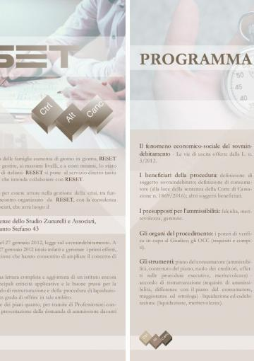 locandina evento reset bologna 24-03-2017